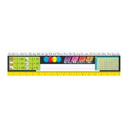 TREND Desk Toppers(R) Reference Name Plates, Modern, 4 3/4in. x 18in., Grades 3-5, 36 Plates Per Pack, Set Of 3 Packs