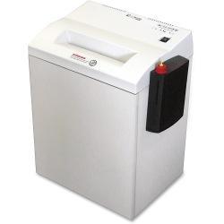 SKILCRAFT High-security Cross-cut Paper Shredder - Cross Cut - 7 Per Pass - for shredding Paper - Level 6 - 10in. Throat - 15 gal Wastebin Capacity - Gray