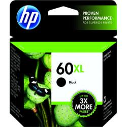 HP 60XL, 50% Recycled, Black Original Ink Cartridge (CC641WN)