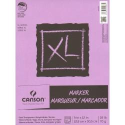 Canson XL Series Marker Pad, 9in. x 12in., 100 Sheets