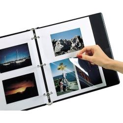 Photo Holders For Three-Ring Binders, 9in. x 11in, Box Of 50