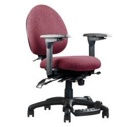 Neutral Posture (R) XSM Petite Task Chair, 34in.H x 26in.W x 26in.D, Burgundy