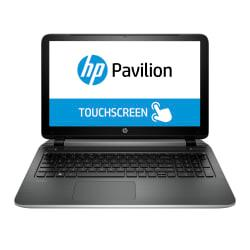 HP Pavilion TouchSmart Laptop Computer With 15.6in. Touch Screen AMD Quad-COre A10 Processor, 15-p051us