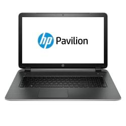 HP Pavilion Laptop Computer With 17.3in. HD+ Screen AMD Quad-Core A8 Processor, 17-f053us