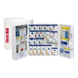 First Aid Only(R) SmartCompliance(R) First Aid Kit, 14in.H x 4 3/10in.W x 13in.D, 243 Pieces