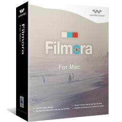 Wondershare Filmora Video Editor for Mac, Download Version