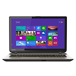 Toshiba Satellite (R) Laptop Computer With 15.6in. Touchscreen Display Intel Core i3-4025U Processor, L55T-B5271