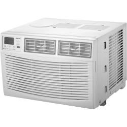 Amana Energy Star Window-Mounted Air Conditioner With Remote, 8,000 Btu, 13 5/16in.H x 18 5/8in.W x 17in.D, White