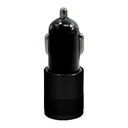Duracell Dual USB 2.1 Amp Car Charger - Black