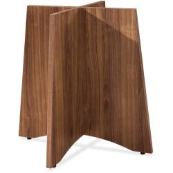 Lorell(R) Laminate Conference Table Base, For Round Table Tops, Walnut