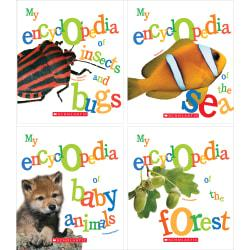 Scholastic Library Publishing My Encyclopedia, 4-Book Set