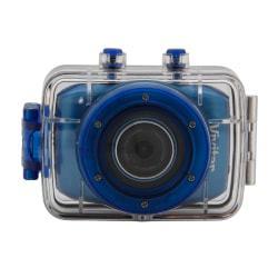 Vivitar (R) DVR785HD Pro Action 5.1-Megapixel Camcorder, Blue