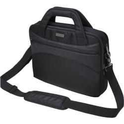 Kensington Triple Trek K62589AM Carrying Case (Briefcase) for 14in. Ultrabook, Tablet, Smartphone, Key, Accessories, File, Books - Black