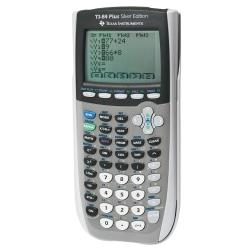 Texas Instruments(R) TI-84 Plus Silver Edition Graphing Calculator