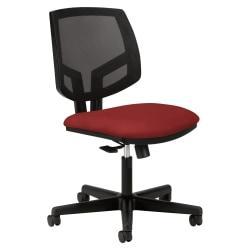 HON (R) Volt Seating Mesh Tilt Task Chair, Crimson/Black