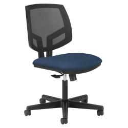 HON(R) Volt Seating Mesh Mid-Back Tilt Task Chair, Navy/Black