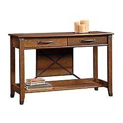 Sauder Carson Forge Sofa Table, Rectangle, Washington Cherry