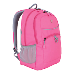SWISSGEAR (R) Student Backpack For 15in. Laptops, Bubble Gum Pink