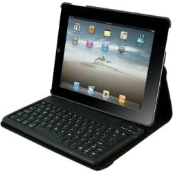 iPad Case Detachable Bluetooth Keyboard for iPad 2-4 - Black Via Ergoguys