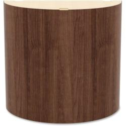 Lorell(R) Prominence Conference Table Curved Base, Walnut