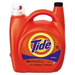 Tide(R) Ultra Liquid Laundry Detergent, Original Scent, 150 Oz, Pack Of 4