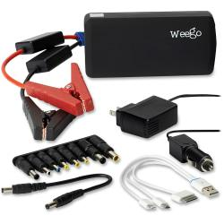 Weego Jump Starter Heavy Duty Battery Pack for Mobile Devices and Car Batteries