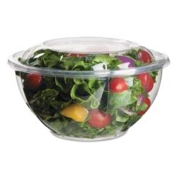 Eco-Products(R) Salad Bowls With Lids, 32 Oz, Clear, 50 Bowls Per Pack, Case Of 3 Packs