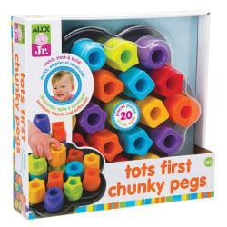 ALEX Jr. Tots' First Chunky Peg Set, Pre-K To Grade 2