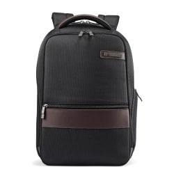 Samsonite� Kombi Slim Laptop Backpack, Black/Brown