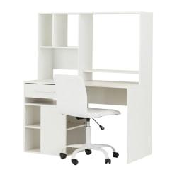 South Shore Annexe 2-Piece Desk And Office Chair Set, White