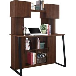 Ameriwood(TM) Home Wood Computer Desk With Hutch, Cherry