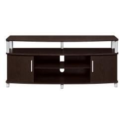 Ameriwood(TM) Home Carsons Media Stand For TVs Up To 50in., Espresso