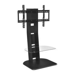 Ameriwood(TM) Home Galaxy TV Stand With Mount For TVs Up To 50in., Black