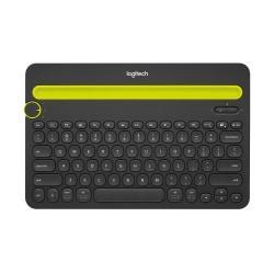 Logitech(R) K480 Bluetooth(R) Wireless Multi-Device Keyboard For PC or Mac, Black