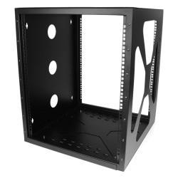 StarTech.com 12U 19in Wall Mount Side Mount Open Frame Rack Cabinet