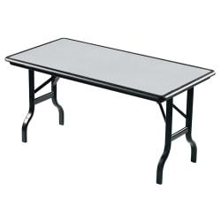Iceberg IndestrucTable (TM) Folding Table, 30in. x 60in., Granite