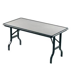 Iceberg IndestrucTable (TM) Folding Table, 30in. x 96in., Granite