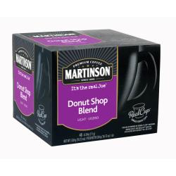 Martinson RealCup Donut Shop Coffee Capsules, 18.62 Oz., Box Of 48