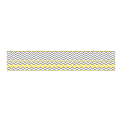 Barker Creek Double-Sided Straight-Edge Border Strips, 3in. x 35in., Chevron, Pack Of 12