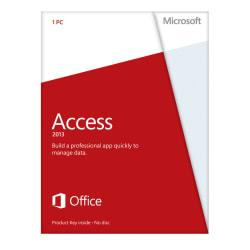Microsoft(R) Office Access 2013, English Version, Product Key