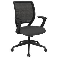 Office Star (TM) Work Smart Mesh Task Chair, Gray/Black