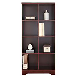 Realspace (R) Magellan 8-Cube Bookcase, 63 3/8in.H x 30 1/8in.W x 15 5/8in.D, Classic Cherry