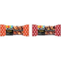 KIND Minis Snack Bar Variety Pack - Gluten-free, Low Sodium, Trans Fat Free, Individually Wrapped, No Artificial Sweeteners - Dark Chocolate Cherry Cashew, Pean