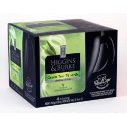 Higgins Burke RealCup(TM) Green Tea Capsules, 5.08 Oz. Box Of 48