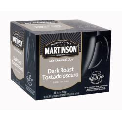 Martinson Dark Roast RealCup(TM) Coffee Capsules, 19.47 Oz., Box Of 48