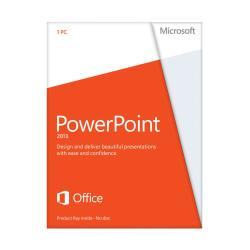 Microsoft(R) Office PowerPoint(R) 2013, English Version, Product Key