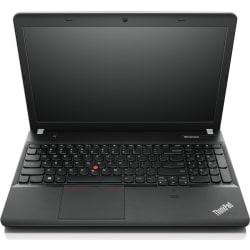 Lenovo ThinkPad Edge E540 20C6008VUS 15.6in. LED Notebook - Intel Core i3 i3-4000M 2.40 GHz - Matte Black, Silver