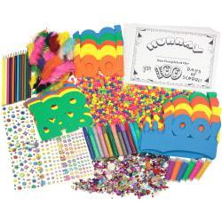 Creativity Street 100th Day Of School Activity Box - Decoration - 100 Piece(s) - 1 Box - Assorted