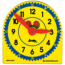 Judy(R) Clock Plastic Class Pack, 5in. x 5in., Pack Of 6