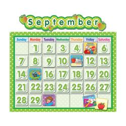 Teacher Created Resources Calendar Bulletin Board Set, 24in. x 18in., Polka Dot, Pre-K - Grade 8